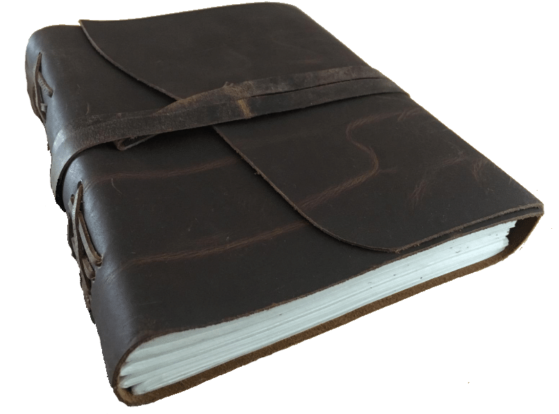 Moonster vintage best leather journal