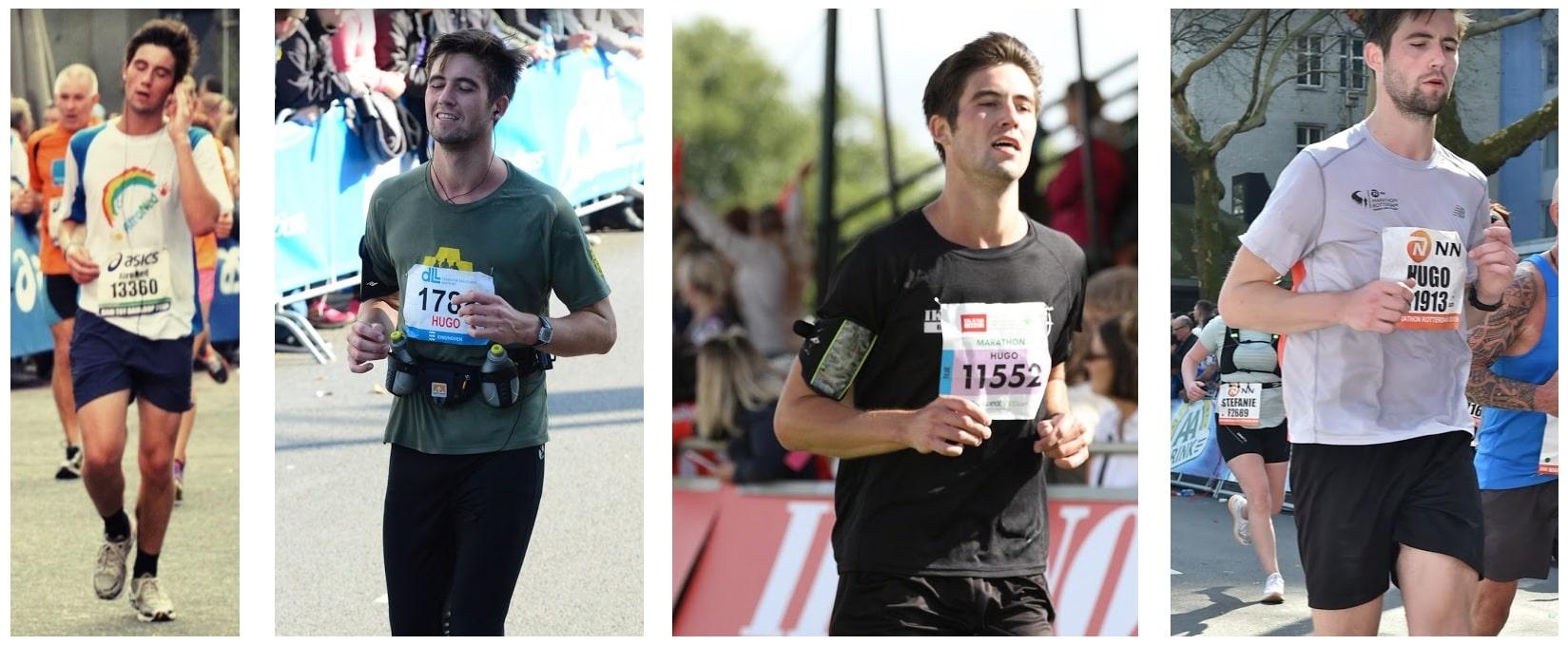 running makes me happier proof pictures marathons