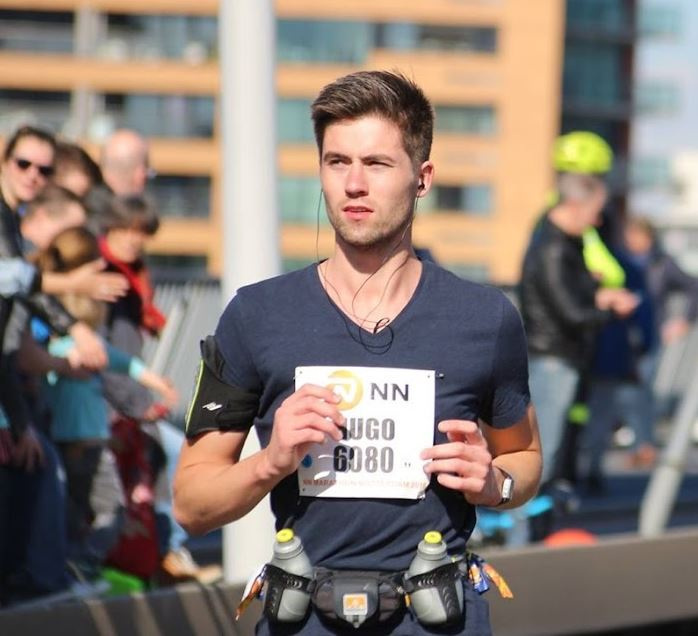 running rotterdam marathon 2016 hugo happiness