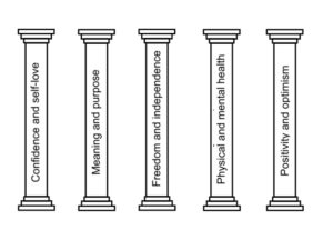 happiness pillars feature