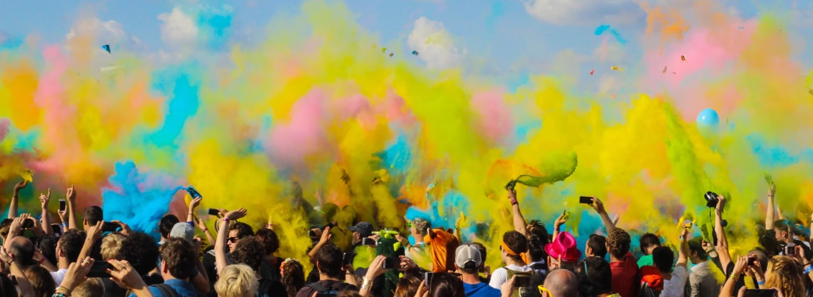 can everybody deserve happiness color festival