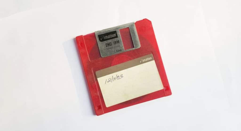 another kind of long term memory a floppy disk