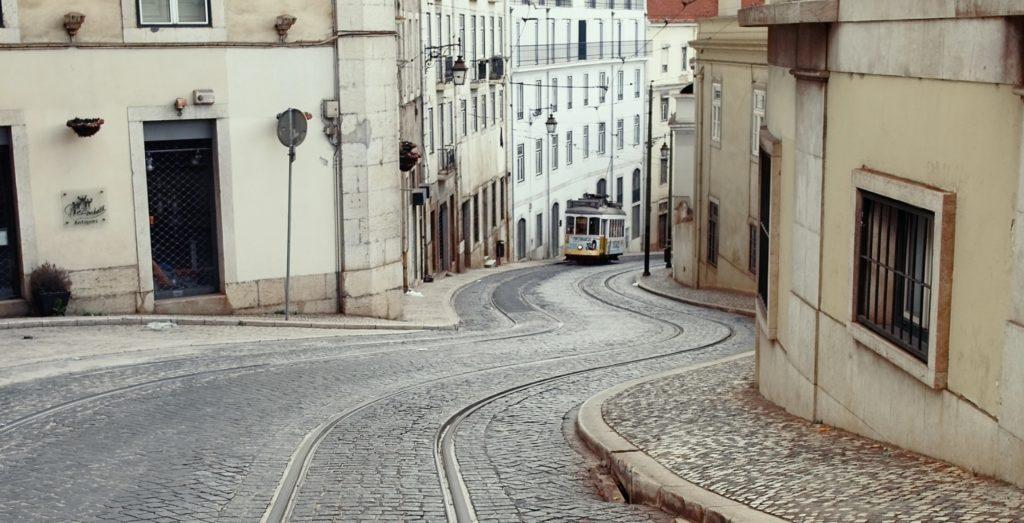 street with sidewalks