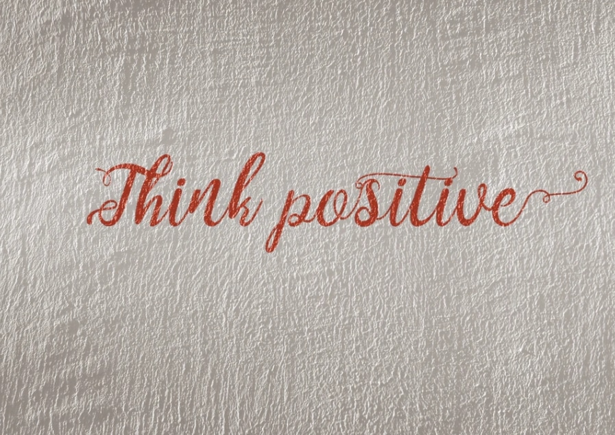 think positive image