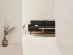 extreme minimalism empty room