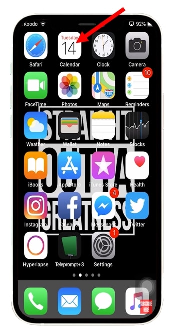 THD-iphone-open-calendar-app