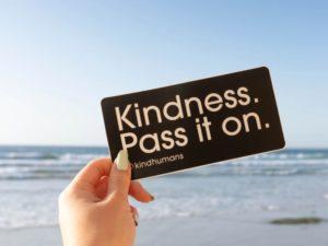 kindness pay it forward card