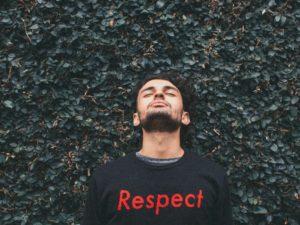 man respect sweater